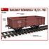 Railway Gondola 16,5-18t with Figures & Barrels