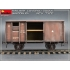 Railway Covered Goods Wagon 18t ''NTV'' Type