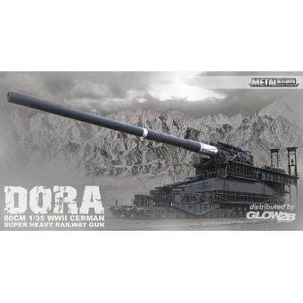 80cm WWII German Super Heavy Railway Gun Dora