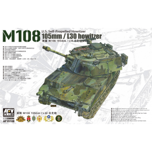 U.S. Self-Propelled Howitzer M108 105mm/L30 Howitzer