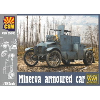 Minerva Armoured Car (Belgian WW I Armour)