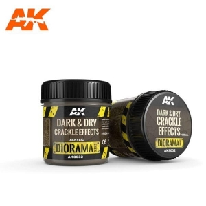 Dark & Dry Crackle Effects 100ml