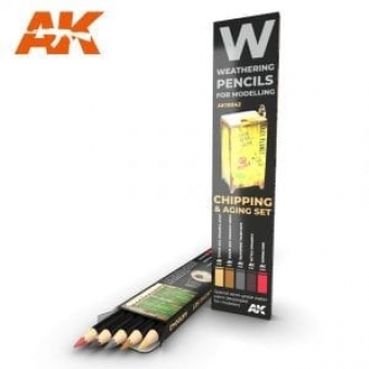 Weathering Pencils: Chipping & Aging