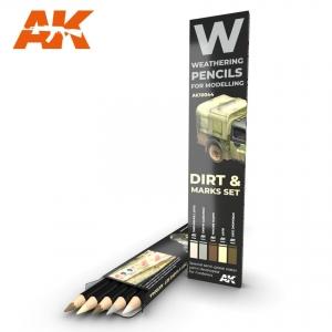 Weathering Pencils: Dirt & Marks