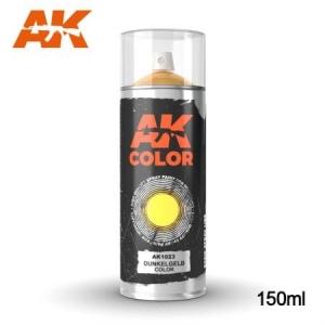 Dunkelgelb Color Spray 150ml