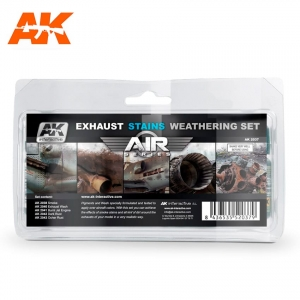 Exhaust Stains Weathering Set (Air Series)