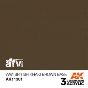 WWI British Khaki Brown Base