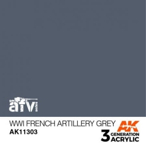 WWI French Artillery Grey