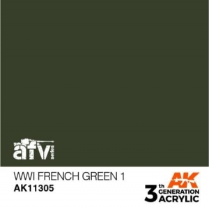 WWI French Green 1