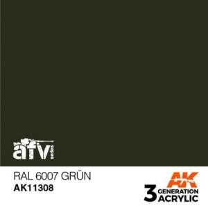 RAL 6007 Grün
