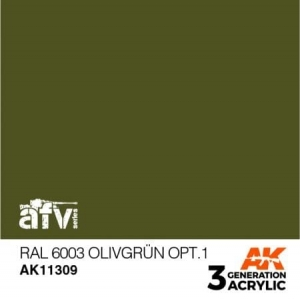 RAL 6003 Olivgrün Opt. 1