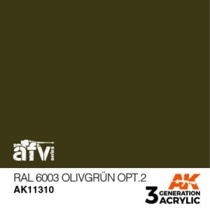 RAL 6003 Olivgrün Opt. 2
