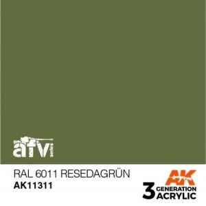 RAL 6011 Resedagrün