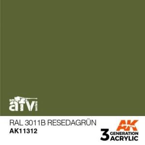 RAL 6011B Resedagrün