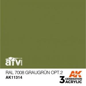 RAL 7008 Graugrün Opt. 2