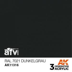 RAL 7021 Dunkelgrau