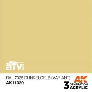 RAL 7028 Dunkelgelb (variant)