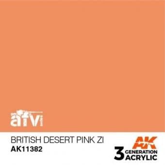 British Desert Pink ZI