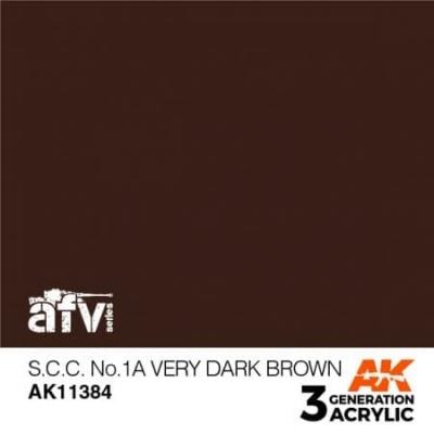 S.C.C. NO.1A Very Dark Brown