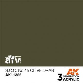 S.C.C. NO.15 Olive Drab