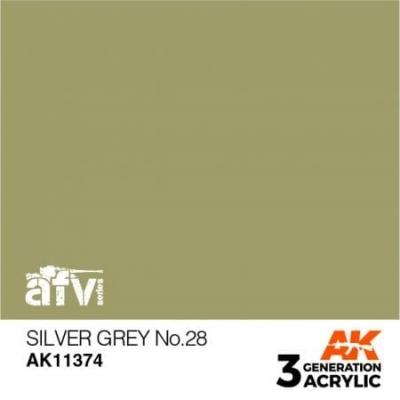 Silver Grey NO.28