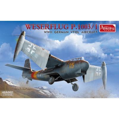 Weserflug P.1003/1 WWII German VTOL aircraft