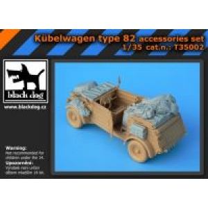 Kübelwagen type 82 accessories set