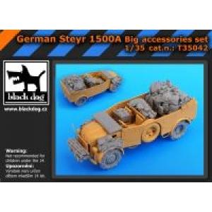 German Steyr 1500A big accessories set
