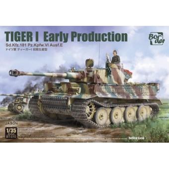 Tiger I Early Production Sd.Kfz.181 Pz.Kpfw.VI Ausf.E