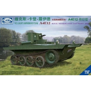 VCL Light Amphibious Tank A4E12 KNIL Version