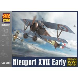 Nieuport XVII Early (French WW I Fighter)