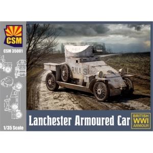 Lanchester Armoured Car (British WW I Armour)