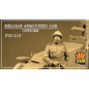 Belgian Armoured car officer