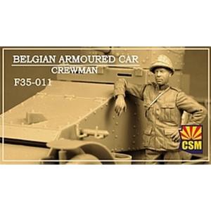 Belgian Armoured car crewman