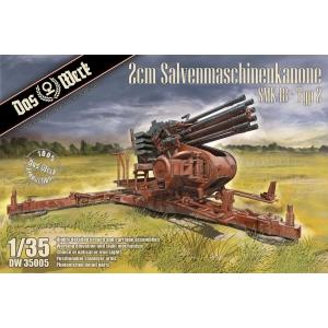 2cm Salvenmaschinenkanone SMK18 - Typ 2