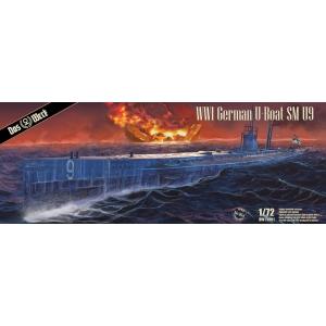 WWI German U-Boat SM U9