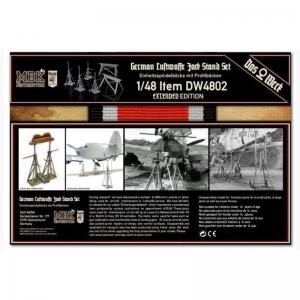 German Luftwaffe Jack Stand Set (Extended Edition)