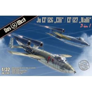 """Junkers Ju EF-126 """"Elli"""" / EF-127 """"Walli"""" (3 in 1)"""