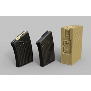 2 cm FlaK38 ammo boxes and magazines