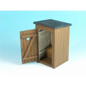 Country Toilet (Outhouse)