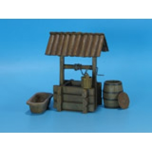 Wooden Water Well