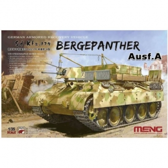 Bergepanther Ausf.A German Armored Recovery Vehicle Sd.Kfz.179