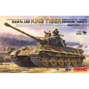 German Heavy Tank Sd.Kfz.182 KING TIGER (Henschel Turret)
