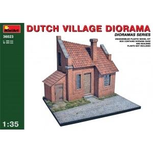 Dioramas Series Dutch Village Diorama