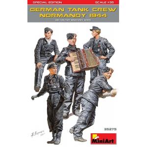 German Tank Crew Normandy 1944