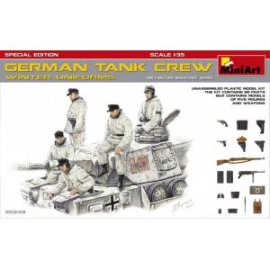 German Tank Crew Winter Uniforms