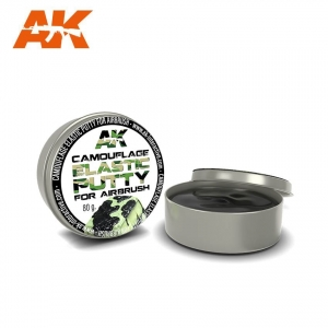 Camouflage Elastic Putty for Airbrush