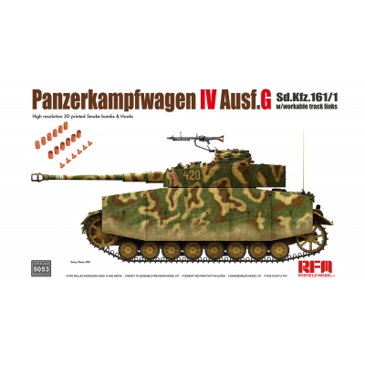 Panzerkampfwagen IV Ausf. G Sd.Kfz. 161/1 w/with workable track links