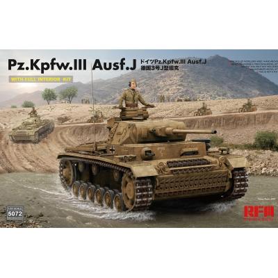 Pz.Kpfw.III Ausf. J Full Interior Kit