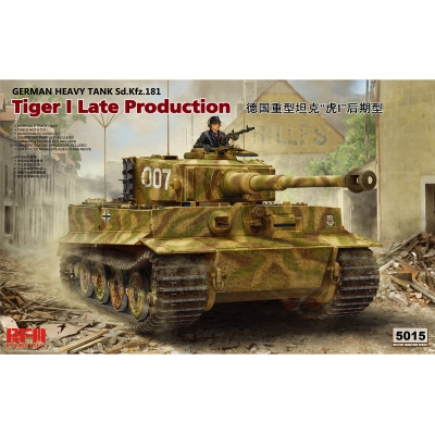 Pz.Kpfw.VI Ausf.E Sd.Kfz.181 Tiger I Late Production